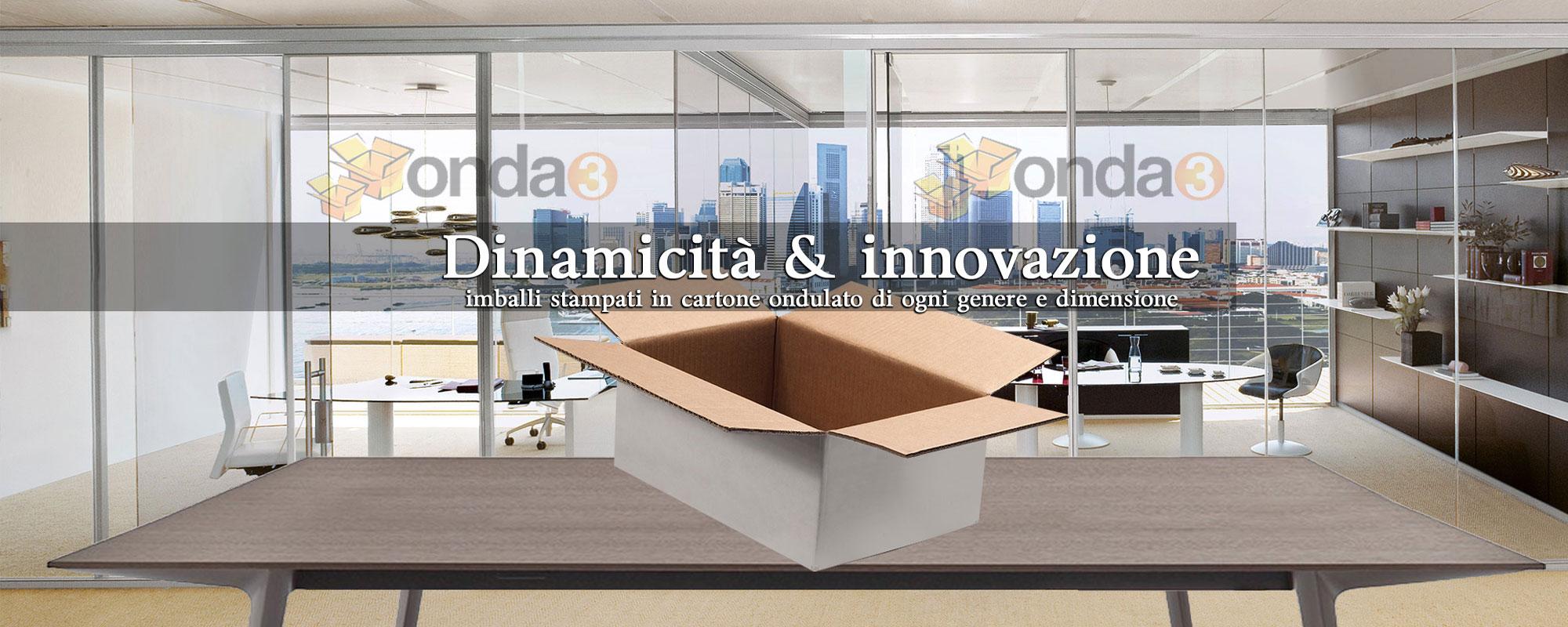 Scatole in cartone ondulato Brescia